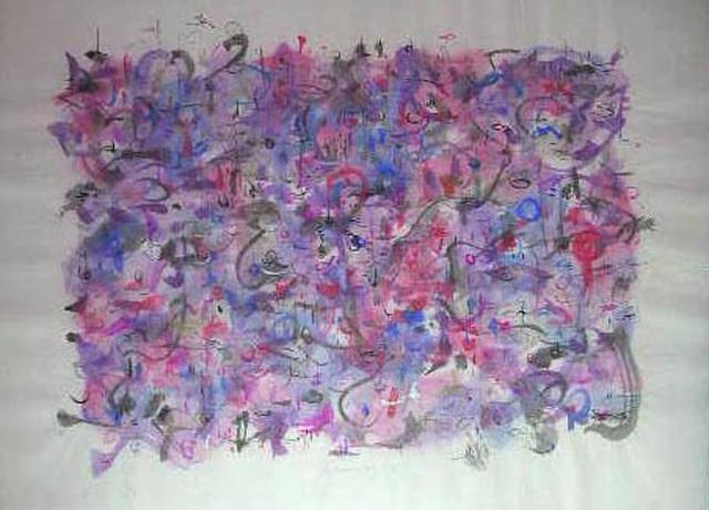 Richard Lazzara  'Blanket Approach Formula', created in 1975, Original Pastel.
