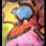 blue bird head By Richard Lazzara