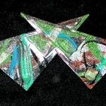 bow tie pin ornament By Richard Lazzara