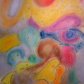 bubbles surface  By Richard Lazzara