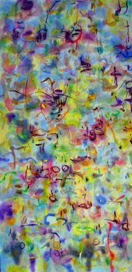 Artist: Richard Lazzara - Title: cause for alarm - Medium: Calligraphy - Year: 1976