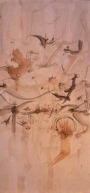 Artist: Richard Lazzara - Title: celebration inner landscape - Medium: Calligraphy - Year: 1976