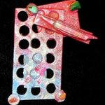 city notes pin ornament By Richard Lazzara