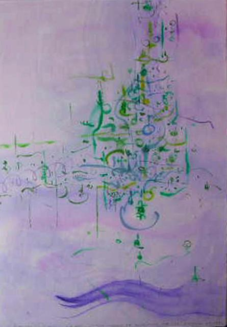 Richard Lazzara  'Consider Art Futures', created in 1977, Original Pastel.
