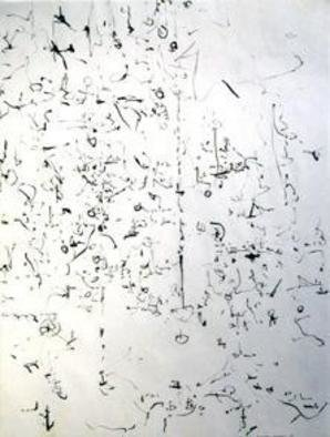 Artist: Richard Lazzara - Title: courting - Medium: Calligraphy - Year: 1974