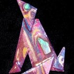 coyote howl pin ornament By Richard Lazzara