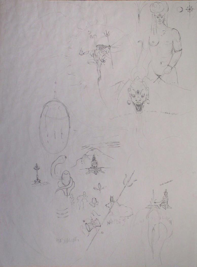 Richard Lazzara, Creative Shiva Drawings