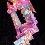 crystal marching pin ornament By Richard Lazzara