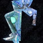 deep sea diver pin ornament By Richard Lazzara
