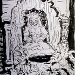 devi in the swing jhula By Richard Lazzara