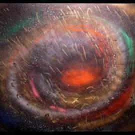 earth and galaxy By Richard Lazzara