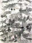 Artist: Richard Lazzara - Title: eastern sun - Medium: Calligraphy - Year: 1975