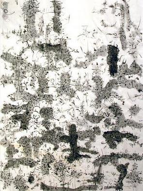 Artist: Richard Lazzara - Title: effulgent oneness - Medium: Calligraphy - Year: 1975