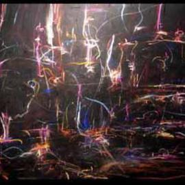 etherial flames By Richard Lazzara