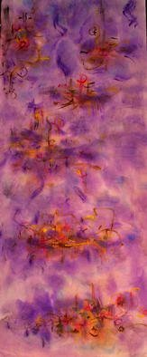 Artist: Richard Lazzara - Title: ever rising horizon line - Medium: Calligraphy - Year: 1976