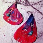 fan the fire ear ornaments By Richard Lazzara
