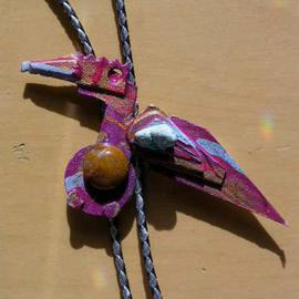 flight bird bolo or pin ornament