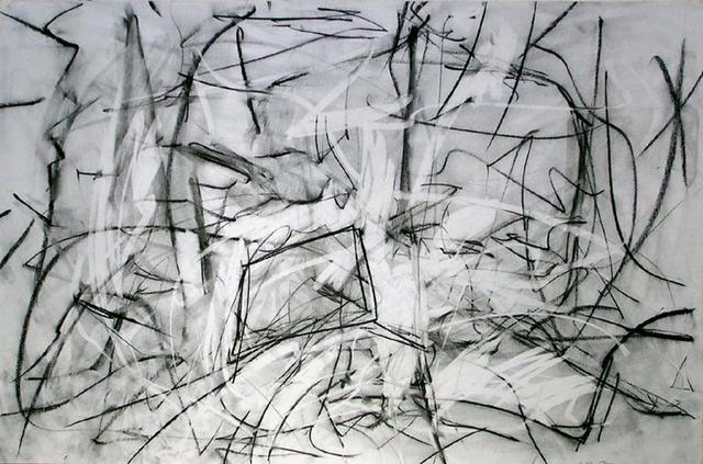 Richard Lazzara  'Floating Planes Of Reality Meeting', created in 1972, Original Pastel.