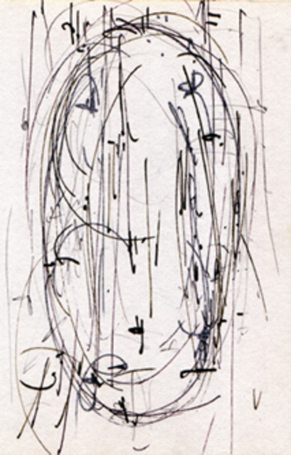 Richard Lazzara Formless Lingam Drawing 2012