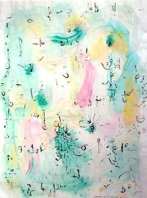 Artist: Richard Lazzara - Title: frosted - Medium: Calligraphy - Year: 1975