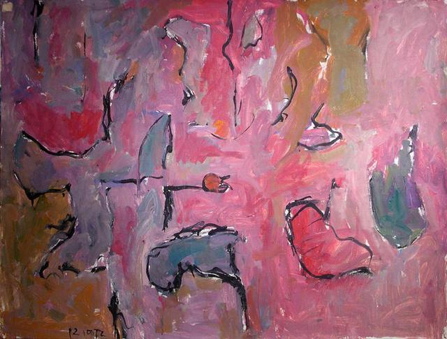Richard Lazzara  'Full Time Studio Paintings', created in 1972, Original Pastel.