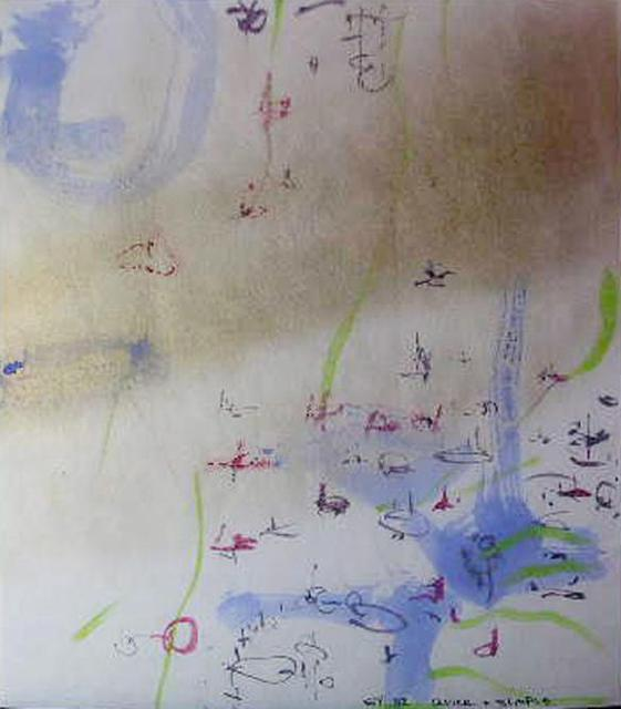 Richard Lazzara  'Global Archive Arts', created in 1982, Original Pastel.