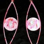 god eyes ear ornaments By Richard Lazzara
