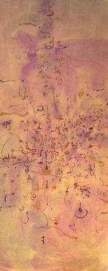 Artist: Richard Lazzara - Title: graphic visionary revealed - Medium: Calligraphy - Year: 1976