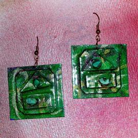green mountains ear ornaments  By Richard Lazzara