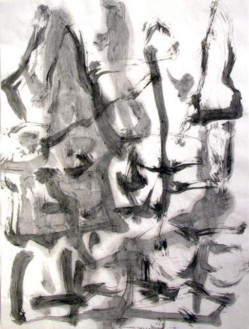 Richard Lazzara  'Greys And Neutrals', created in 1975, Original Pastel.