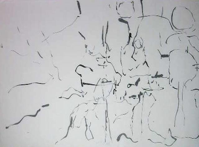 Richard Lazzara  'Having Varied', created in 1974, Original Pastel.