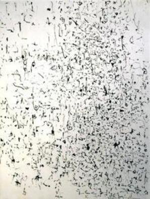 Artist: Richard Lazzara - Title: hung sau breath - Medium: Calligraphy - Year: 1974