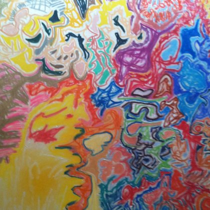 , Cross Fade, Abstract, $2,625