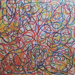 , Whirling Swerlling, Abstract, $2,625