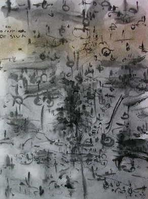 Richard Lazzara Artwork increase productivity, 1982 Calligraphy, Visionary