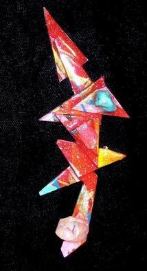 Richard Lazzara: 'intricacy pin ornament', 1989 Mixed Media Sculpture, Fashion. intricacy pin ornament from the folio LAZZARA ILLUMINATION DESIGN is available at
