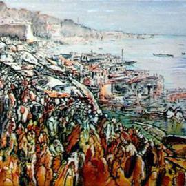 Kashi Down River  Scene, Richard Lazzara