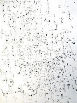 Artist: Richard Lazzara - Title: knowing life this passing dream - Medium: Calligraphy - Year: 1974