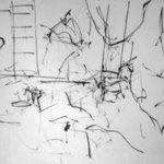ladder into studio By Richard Lazzara