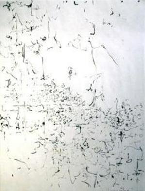 Artist: Richard Lazzara - Title: language - Medium: Calligraphy - Year: 1974