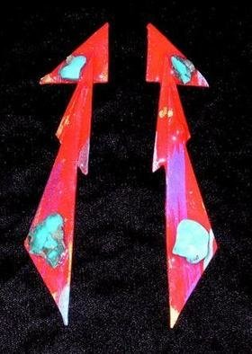 Richard Lazzara Artwork looking devices ear ornaments, 1989 Mixed Media Sculpture, Fashion