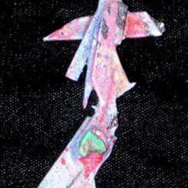 Richard Lazzara: 'mechanical hand pin ornament', 1989 Mixed Media Sculpture, Fashion. Artist Description: mechanical hand pin ornament from the folio LAZZARA ILLUMINATION DESIGN is available at