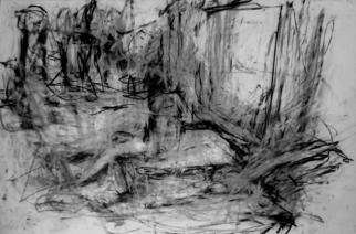 Artist: Richard Lazzara - Title: model drawing class - Medium: Charcoal Drawing - Year: 1972