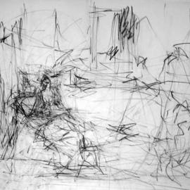 model in the drawing room  By Richard Lazzara