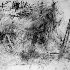 modeling energies with charcoal and eraser  By Richard Lazzara