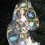 moon glow skys pin ornament By Richard Lazzara