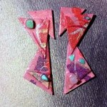 more about triangles ear ornaments By Richard Lazzara