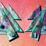 moss garden ear ornaments By Richard Lazzara