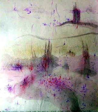 Richard Lazzara Artwork multitude of devices, 1983 Calligraphy, Visionary