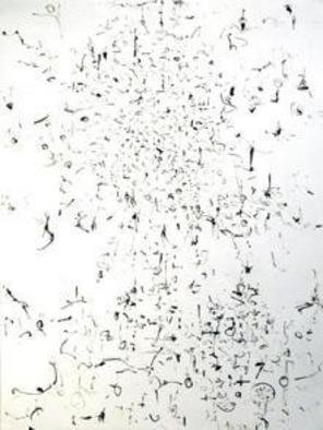 Artist: Richard Lazzara - Title: my bee hive - Medium: Calligraphy - Year: 1974